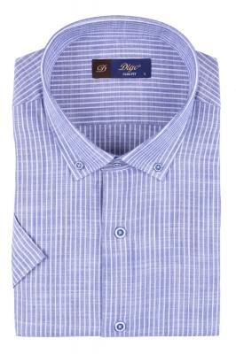 Мужская рубашка в полоску, короткий рукав  (Арт. T 3309К)