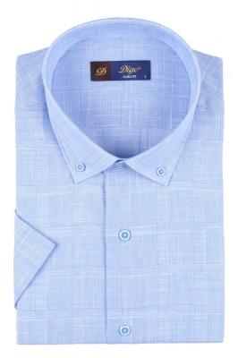 Мужская рубашка в клетку, короткий рукав  (Арт. T 3315К)