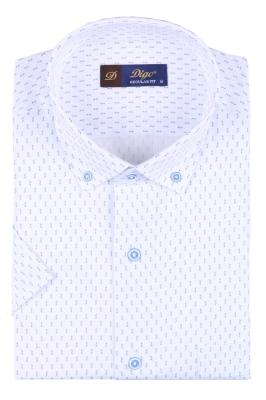 Мужская рубашка в рисунок, короткий рукав  (Арт. T 3331К)