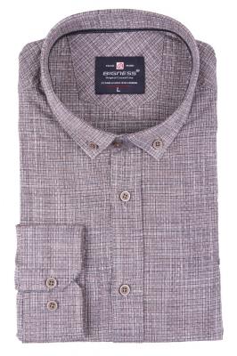 Стильная мужская рубашка, длинный рукав  (Арт. T 3394)