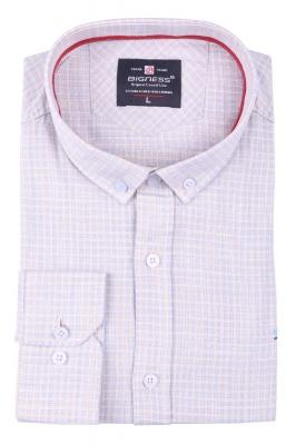 Стильная мужская рубашка, длинный рукав  (Арт. T 3395)