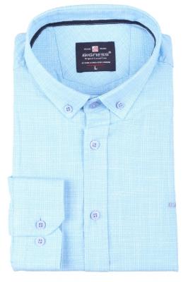 Стильная мужская рубашка, длинный рукав  (Арт. T 3397)