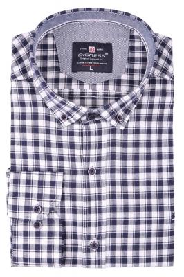 Стильная мужская рубашка, длинный рукав  (Арт. T 3398)