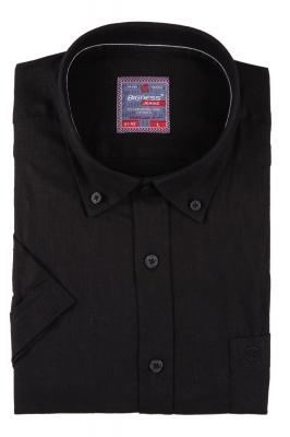 Мужская однотонная рубашка, короткий рукав  (Арт. T 3412К)