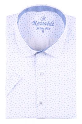 Стильная мужская рубашка в рисунок, длинный рукав  (Арт. T 3463)