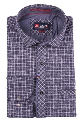 Cтильная мужская рубашка, длинный рукав  (Арт. T 3553)