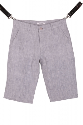 Мужские льняные шорты (Арт. SH 3589)