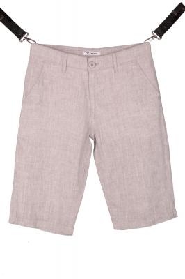 Мужские льняные шорты (Арт. SH 3590)