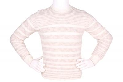 Стильный мужской свитер в полоску (Арт. POS 3899)