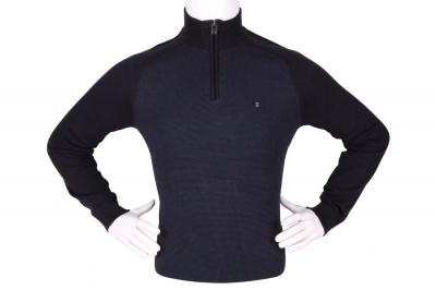 Стильный мужской свитер с воротником на молнии (Арт. POS 3941)