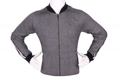 Стильный мужской свитер с застежкой на молнии (Арт. POS 3945)
