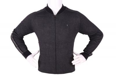 Стильный мужской свитер с застежкой на молнии (Арт. POS 3947)