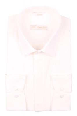 Cтильная мужская рубашка в мелкий рисунок, длинный рукав  (Арт. T 3969)
