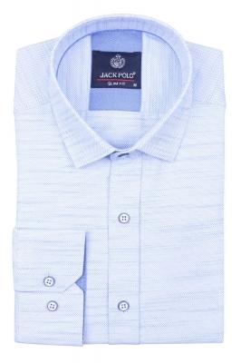 Cтильная мужская рубашка, длинный рукав  (Арт. T 4024)
