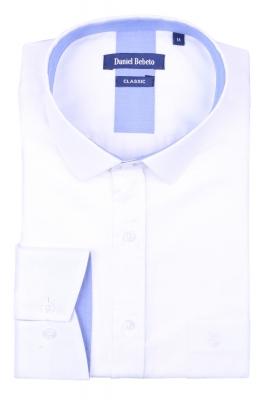 Классическая мужская рубашка в рисунок, длинный рукав  (Арт. T 4032)