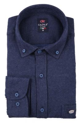 Классическая кашемировая мужская рубашка, длинный рукав (Арт. T 3993)