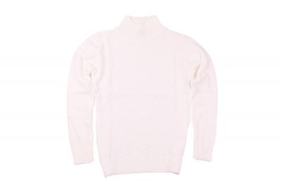 Детский свитер белого цвета (Арт. D-GF 4148)