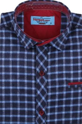 Детская рубашка в клетку, длинный рукав (Арт. TB 4204)