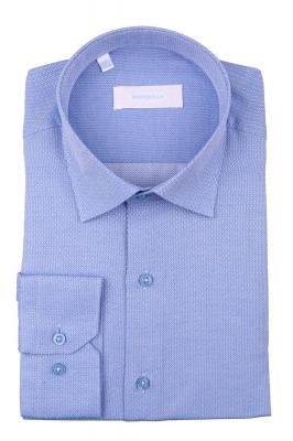 Рубашка мужская классика в мелкий узор, длинный рукав (Арт. T 4402)