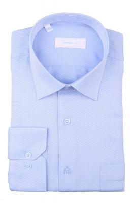 Рубашка мужская классика в мелкий узор, длинный рукав (Арт. T 4404)