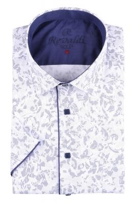 Рубашка мужская классика в рисунок, короткий рукав (Арт. T 4486К)