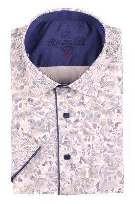 Рубашка мужская классика в рисунок, короткий рукав (Арт. T 4490К)