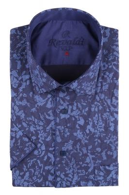 Рубашка мужская классика в рисунок, короткий рукав (Арт. T 4491К)