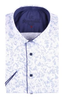 Рубашка мужская классика в рисунок, короткий рукав (Арт. T 4489К)