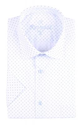 Рубашка мужская классика в рисунок, короткий рукав (Арт. T 4497К)