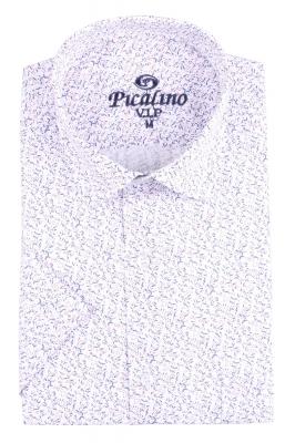 Рубашка мужская классика в рисунок, короткий рукав (Арт. T 4498К)