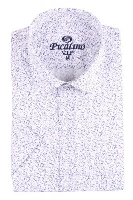 Рубашка мужская классика в рисунок, короткий рукав (Арт. T 4500К)