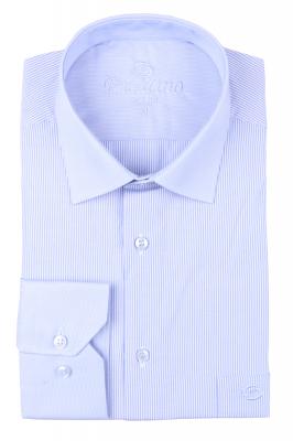 Рубашка мужская классика в полоску, длинный рукав (Арт. T 4662)