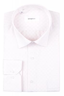 Рубашка мужская классика в клетку, длинный рукав (Арт. T 4694)