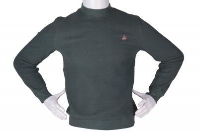 Мужской гольф оливкового цвета, утеплённый (Арт. SVR 4856)