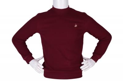 Мужской гольф бордового цвета, утеплённый (Арт. SVR 4857)