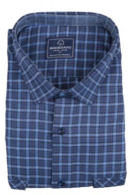 Рубашка мужская классика кашемир в клетку, длинный рукав (Арт. SDK 7947 B)