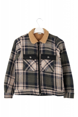 ALZEK Куртка для мальчика на меху (Арт. D 5530)