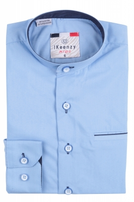 IKeenzy Рубашка для мальчика цвет голубой (Арт. B 2982)