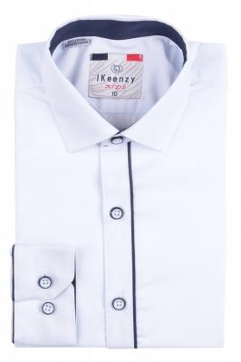 IKeenzy Рубашка для мальчика цвет белый (Арт. B 2977)