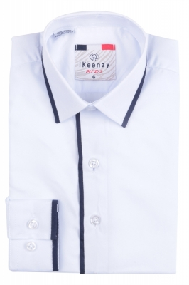 IKeenzy Рубашка для мальчика цвет голубой (Арт. B 1404)