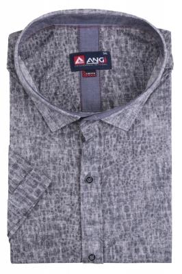 Рубашка мужская больного размера цвет серый (Арт. T 5363B)