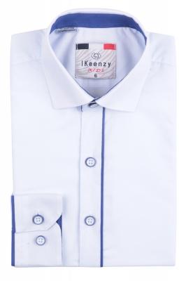 IKeenzy Рубашка для мальчика цвет белый (Арт. B 2976)