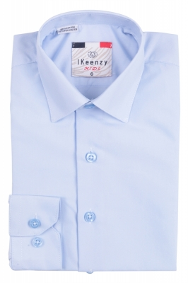 IKeenzy Рубашка для мальчика цвет голубой (Арт. B 0926S)