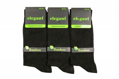 Носки мужские бамбук цвет черный (NS 5301)