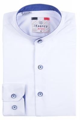IKeenzy Рубашка для мальчика цвет белый (Арт. B 2983)