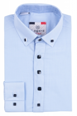 IKeenzy Рубашка для мальчика цвет голубой (Арт. B 7499)