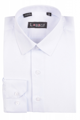 Logard Рубашка для мальчика цвет белый (Арт. B 0925S)