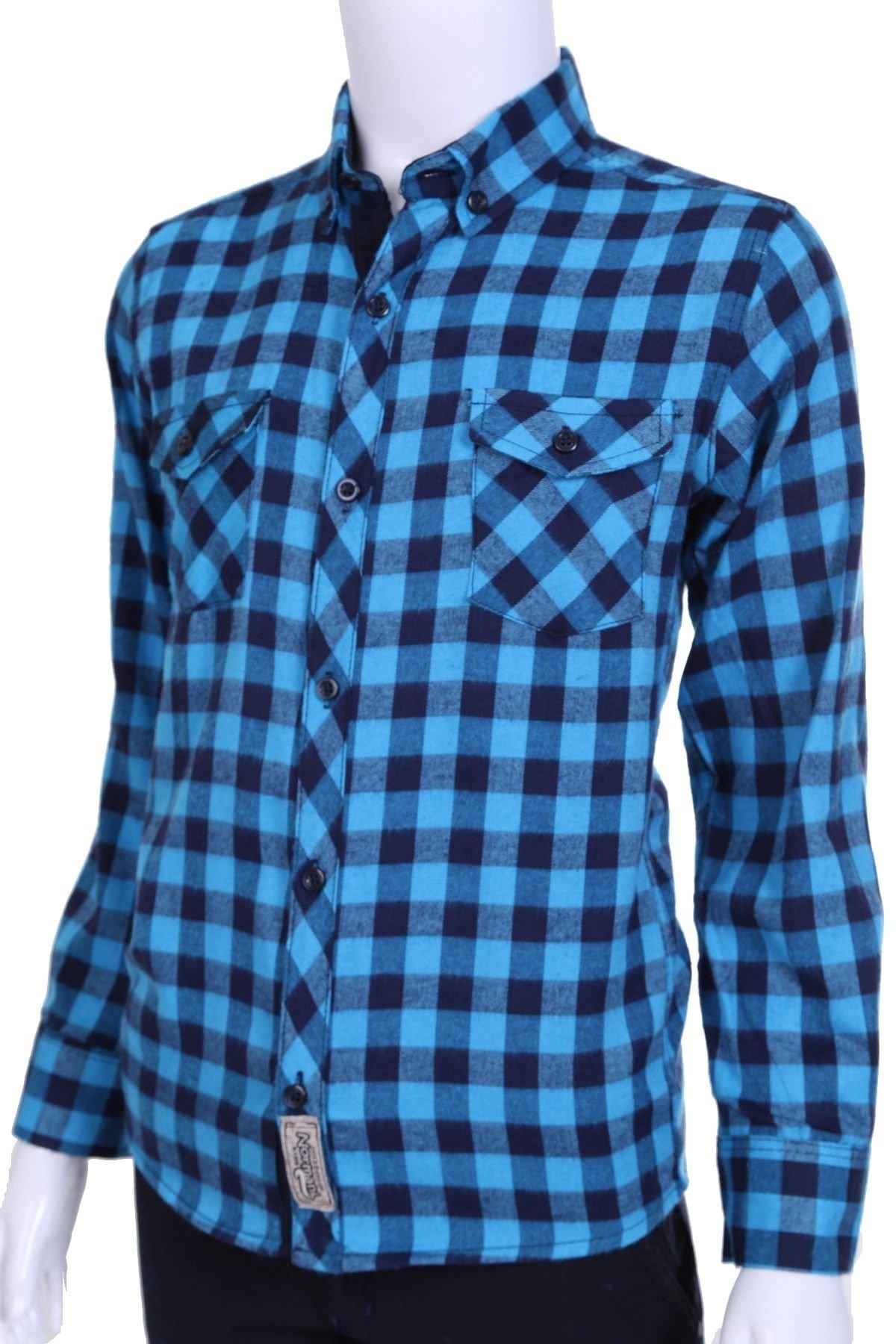 Детская хлопковая рубашка  (Арт. ТВ 1716)
