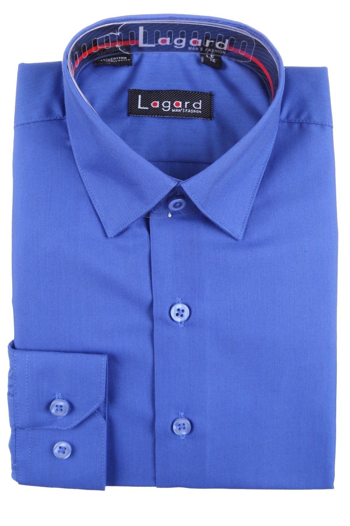Рубашка для мальчика с длинным рукавом  (Арт. В SKY 0928S)