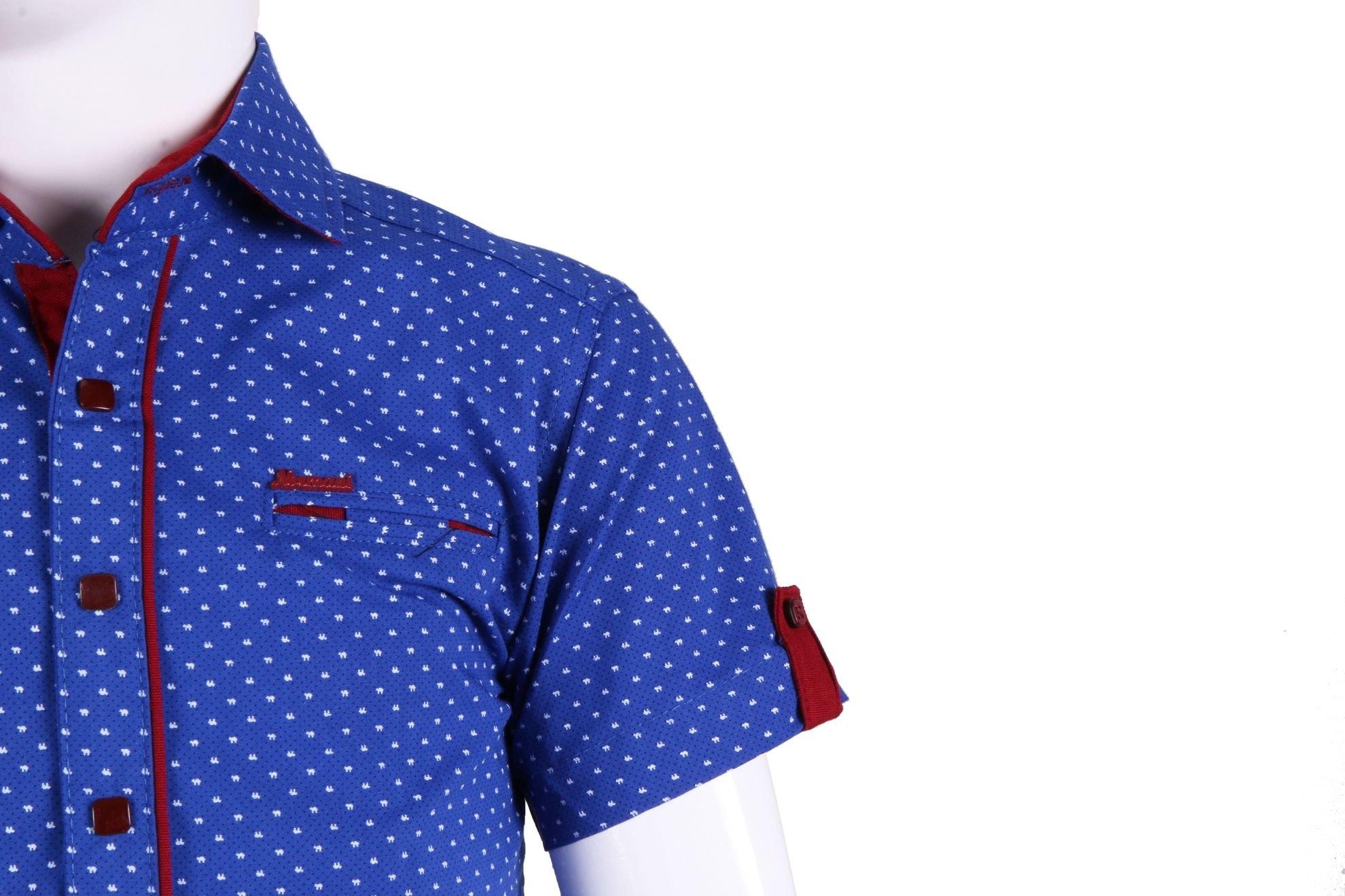 Детская рубашка с коротким рукавом (Арт. ТВ 2203K)